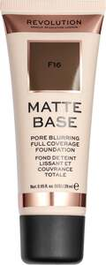 Makeup Revolution Matte Base Make Up F16 21.39 EUR/100 ml