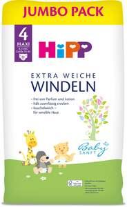 HiPP Babysanft extra weiche Windeln Jumbo Pack Größe 4 (Maxi, 8-14 kg)