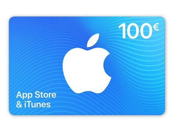 Geschenkkarte für App Store & iTunes über 100€