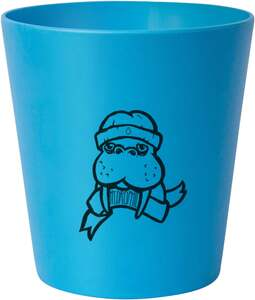 HYDROPHIL Kinder-Zahnputzbecher blau ´´Walross´´