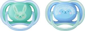 PHILIPS AVENT Beruhigungssauger Ultra Air Sauger Gr. 2 (6-18 Monate) J EUR/