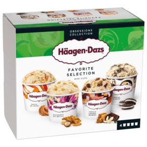 Häagen-Dazs Favorite Selection 4x95ml