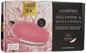 waschies Abschmink- & Waschpads 7er-Set Pink Edition
