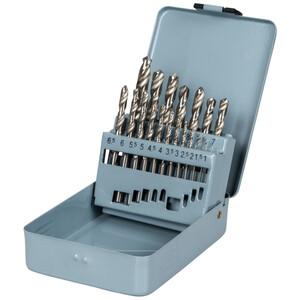HSS Bohrer Set DIN338 19tlg poliert 1-10mm Metallbohrer