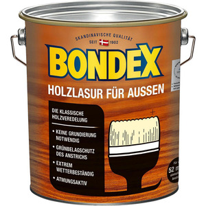 Bondex -              Bondex Holzlasur Palisander 4 l