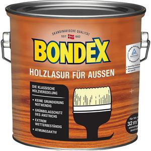 Bondex -              Bondex Holzlasur für außen transparent 2.5 l