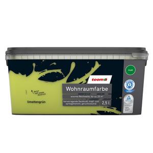 toomEigenmarken -              toom Wohnraumfarbe 'Limettengrün' 2,5 l matt