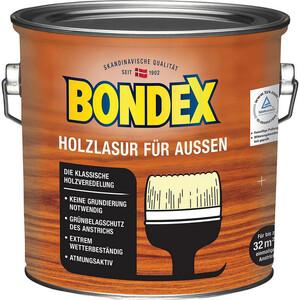 Bondex -              Bondex Holzlasur Ebenholz 2,5 l