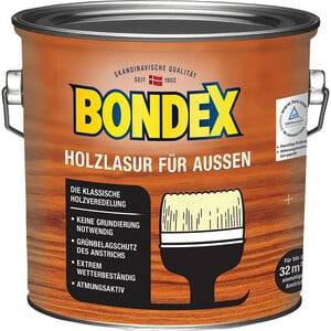 Bondex -              Bondex Holzlasur 2,5 l hellblau/grau
