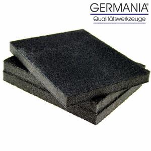 Schleifschwamm 3tlg 125x100x12mm Korn 60/80/180 Schleifblock Schleifklotz
