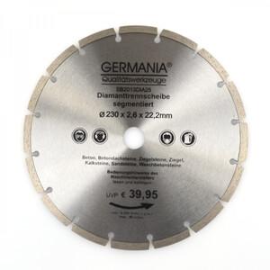Diamanttrennscheibe 230x2,6mm Segmentiert Diamantscheibe Steintrennscheibe