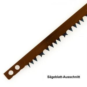 Ersatzsägeblatt 760 mm Sägeblatt Bügelsäge Handsäge gehärtete Zähne Säge