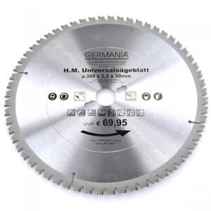 HM Multi Sägeblatt 300x30mm 60Zähne universal Alu Holz Kunststoff Kreissägeblatt