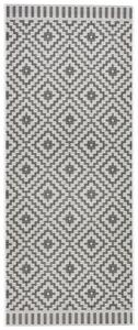 Flachwebeteppich Soho in Schwarz ca. 80x200cm