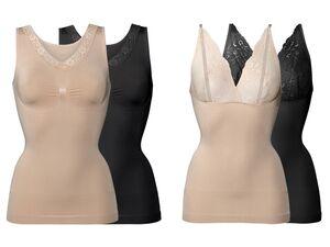 ESMARA® Lingerie 2 Damen Formhemden