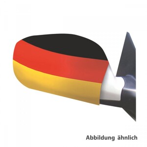 Autospiegelüberzug Deutschland 2 Stück