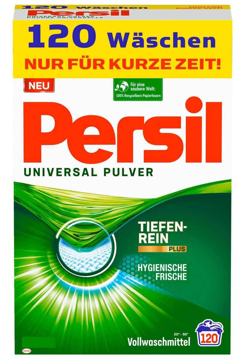 Bild 1 von Persil Universal Pulver Vollwaschmittel 120 WL 0.24 EUR/1 WL