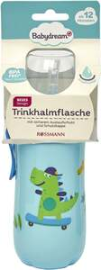 Babydream Trinkhalmflasche blau