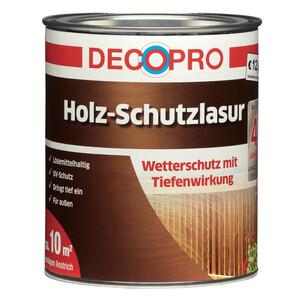 DecoPro Holz-Schutzlasur seidenglänzend 750 ml in teak