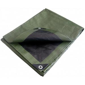 Fishbull Abdeckplane Profi 1,8x5,5 m 150 g/m² grün/schwarz