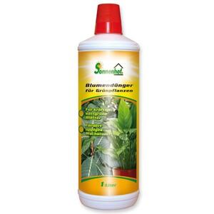 Blumendünger flüssig für Grünpflanzen 1 Liter
