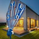 Bild 2 von HSV LED-Motivstrahler 7,5W blau mit Logo