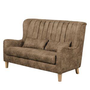 home24 Sofa Shenton (3-Sitzer) Antiklederlook