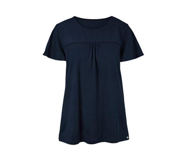 Jerseyshirt mit Lochstickerei