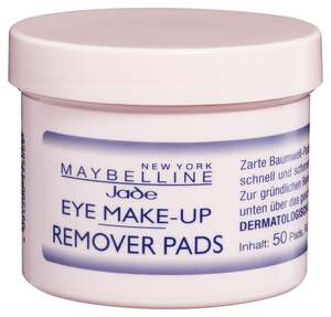 Maybelline New York Augen Make Up-Entferner Pads 50 S 0.09 EUR/1 Stück