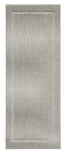 Flachwebeteppich Kanada Grau, ca. 80x200cm