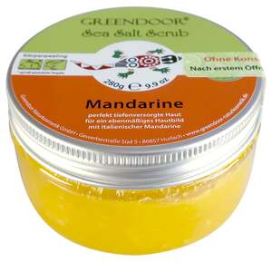 GREENDOOR Sea-Salt Scrub Mandarine 30.32 EUR/1 kg