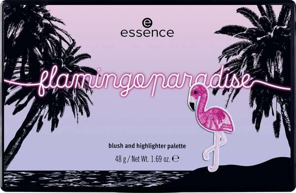 essence flamingoparadise blush and highlighter palette 26.98 EUR/100 g