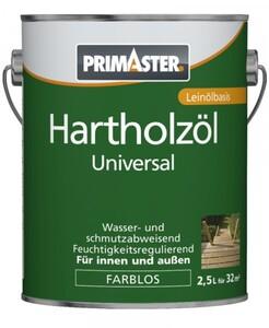 Primaster Hartholzöl Universal ,  2,5 l, farblos