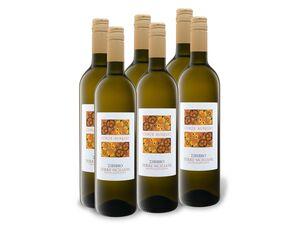 6 x 0,75-l-Flasche Weinpaket Terre Siciliane IGP Zibibbo secco
