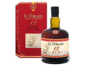 EL DORADO Rum 12 Jahre mit Geschenkbox 40% Vol