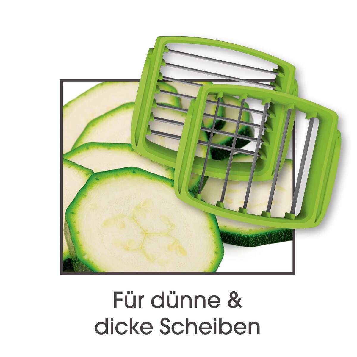 Bild 2 von GOURMETmaxx 5in1 Compact Chop ´N Slice Küchenhelfer 7-tlg.