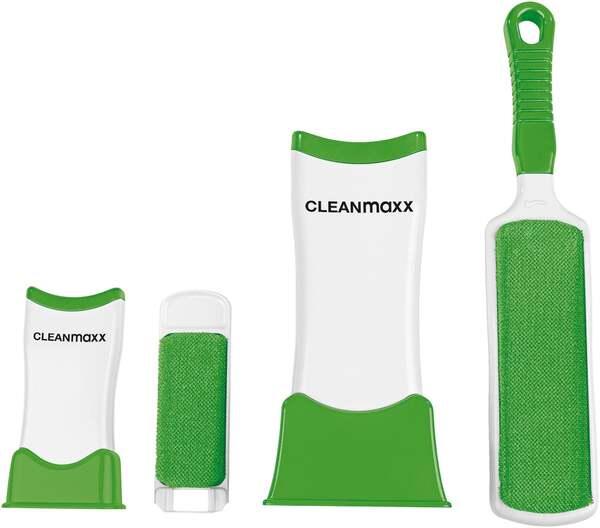CLEANmaxx Fusselbürsten-Set Fusselschreck 4-tlg.