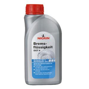 Nigrin Bremsflüssigkeit DOT4 500ml Auto Bremssystem Flüssigkeit Bremse