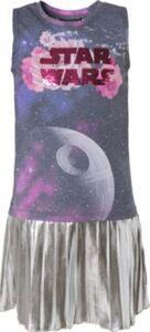 Star Wars Kinder Kleid mit Wendepailletten und Rockteil in Metallic-Optik mehrfarbig Gr. 152/158 Mädchen Kinder