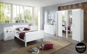 Disselkamp - Komfortzimmer Udine in Lack weiß