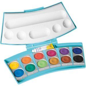 Pelikan, Deckfarbkasten Pro Color 12 mit integrierten Wasserboxen
