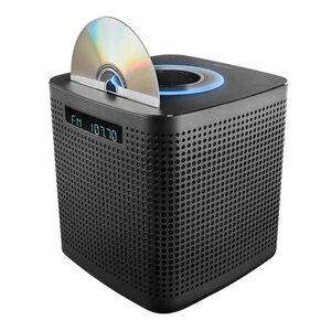 MEDION LIFE® P64430 WLAN Mikro-Audio-System mit Amazon Alexa, 2 x 15 W RMS, PLL-UKW, DLNA, Bluetooth® 4.2, CD/MP3 Player, Sprachsteuerung, Multiroom-Funktion, Musikstreaming