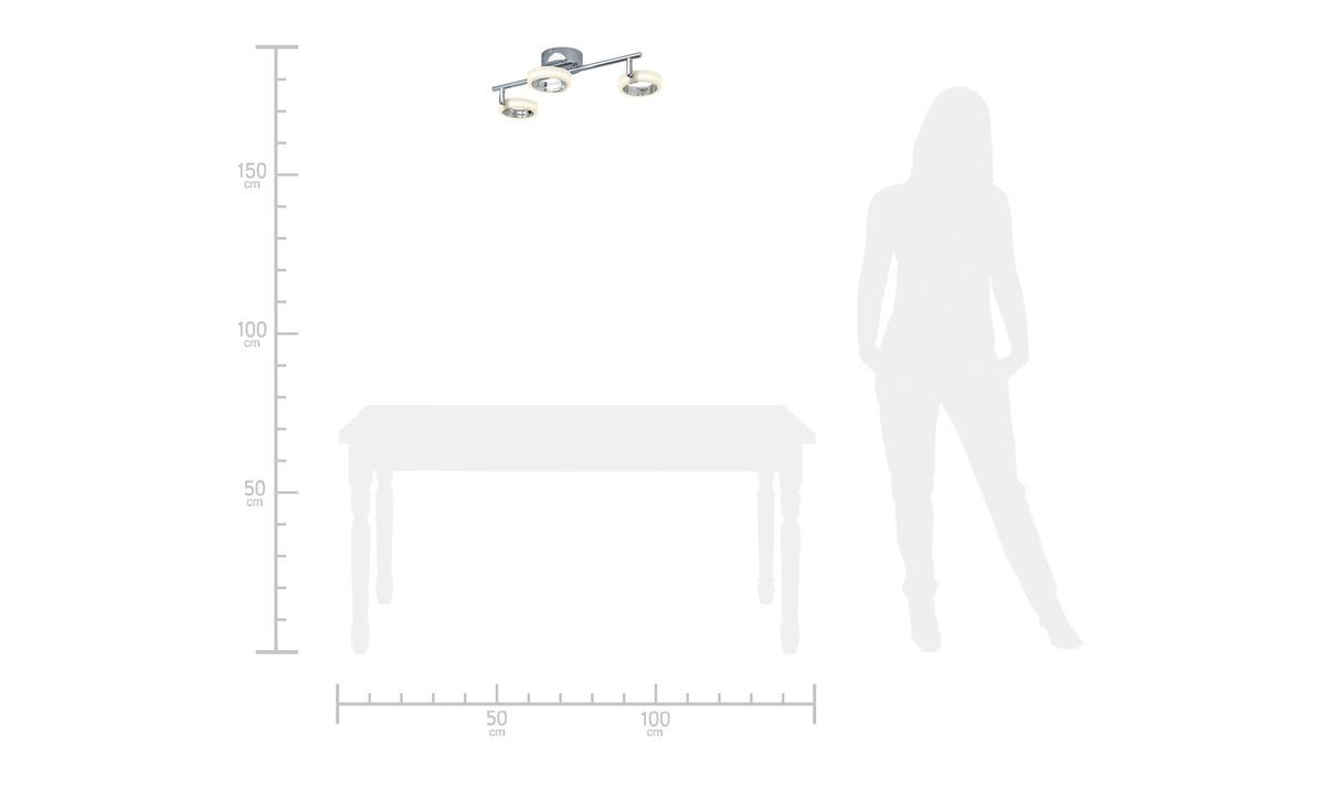 Bild 6 von LED-Deckenstrahler, 3-flammig, Acrylringe