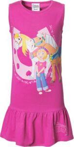 Prinzessin Emmy und ihre Pferde Kinder Kleid pink Gr. 92/98 Mädchen Kleinkinder