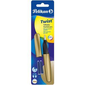 Pelikan - Füllhalter - Twist - pure gold