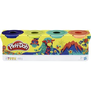 Play-Doh - Wild - 4er Pack Knete