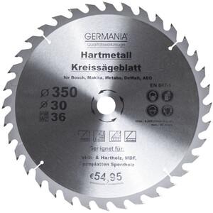 Germania Hartmetall Kreissägeblatt Ø 350 mm Holz