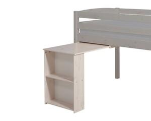 Ausziehbarer Tisch mit Regal Trendy