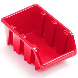 Stapelbox 198x118x90 mm NP8 rot Stapelkasten Stapelkästen Sichtlagerkästen