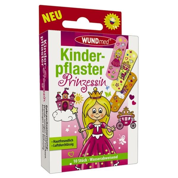 Kinderpflaster 10 Stück Prinzessin hautfreundlich